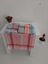 Mutfak Peçetesi Kurulama Bezi Alman Peçetesi 6 Renk 6 lı ve 12 li Paket - Thumbnail
