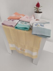 Mef Collection - Mutfak Havlusu, Kurulama Bezi Renkli 6 lı ve 12 li Paket