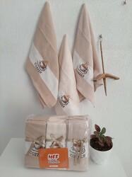 Mutfak Havlusu Kurulama Bezi 3 Renk 3 lü 6 lı ve 12 li Paket - Thumbnail