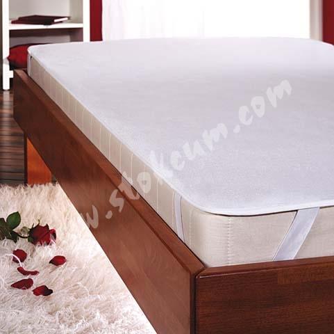 Sıvı Geçirmez Yatak Koruyucu Alez Beyaz